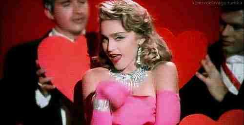 "Madonna en Video de ""Material Girl"""