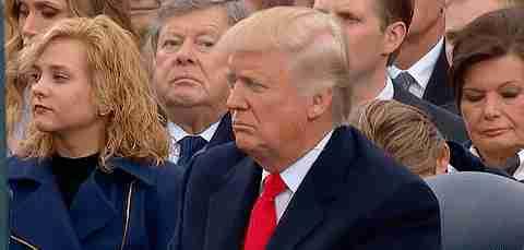 Donald Trump en acto público
