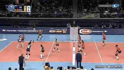 Partido de voleibol