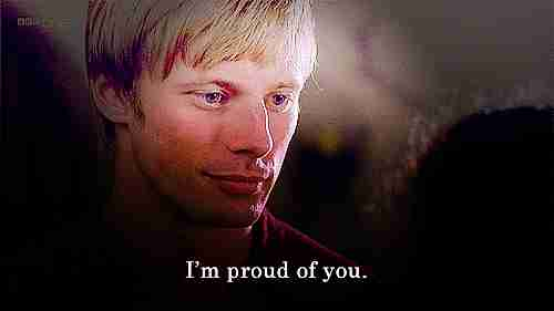 Estoy orgulloso de ti